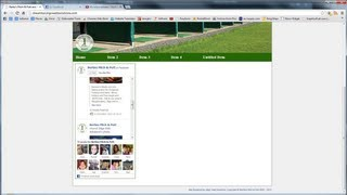 Dreamweaver Tutorial - Part Eight - Placing a Facebook Feed On Our Website
