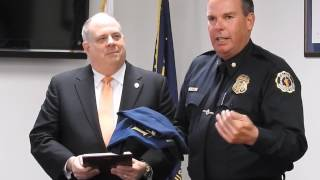 governor presents citation to annapolis police department
