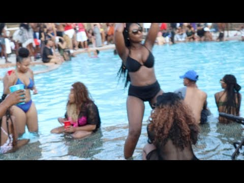 UTSA/TXST pool party extreme litt footage