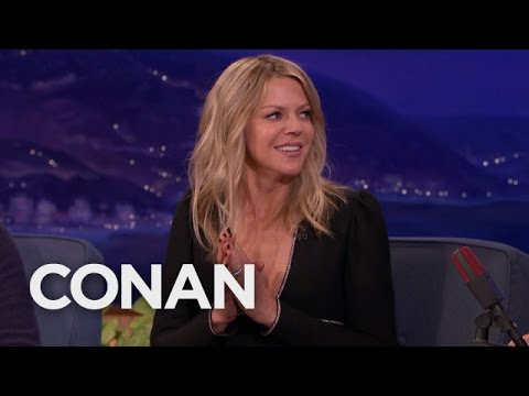 Kaitlin Olson Accidentally Seduced A Woman   CONAN on TBS