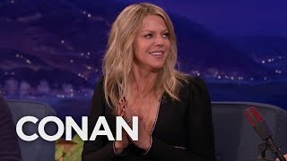 Repeat youtube video Kaitlin Olson Accidentally Seduced A Woman  - CONAN on TBS
