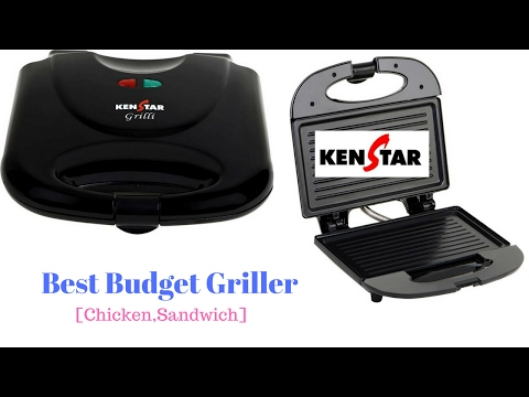 Kenstar Grilly | How to grill chicken breast | Best Budget Sandwich Maker