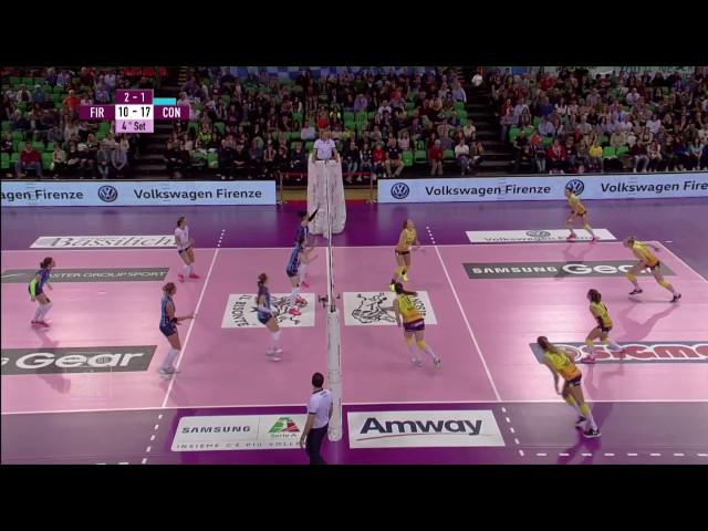 #videoemozioni. Playoff Quarti Gara1 Firenze vs Conegliano
