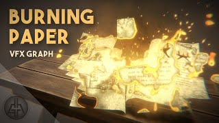 The Burning Paper Effect in Unity VFX Graph