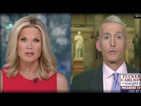 TREY GOWDY JUST WENT OFF ON CAMERA AND LEAKED THE DEMOCRATS
