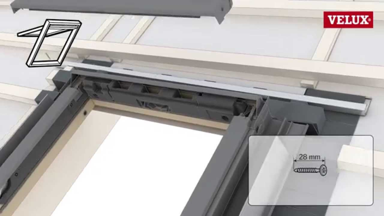 Installation Of Velux Roof Windows With An Edw Flashing