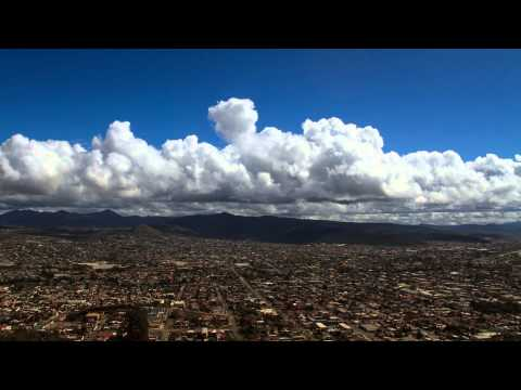 From the Top of Ensenada City, Mexico - Timelapse