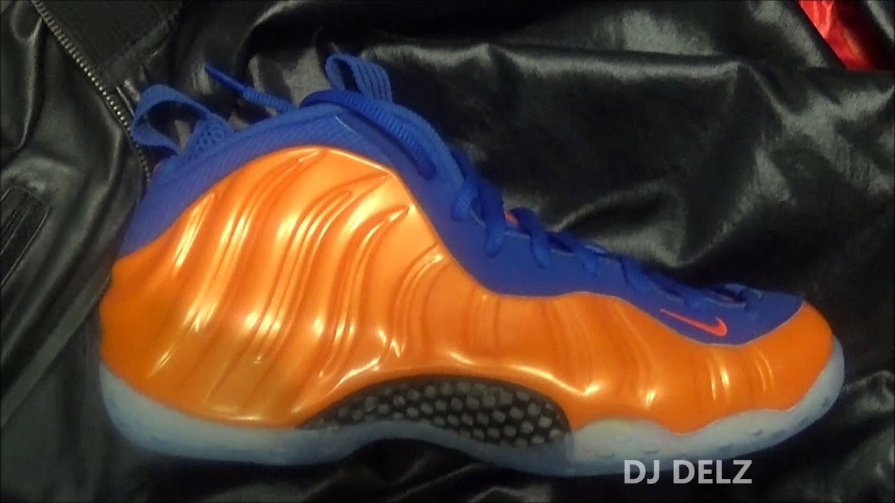 16c2eaec5b28e Nike Air Foamposite One Knicks Sneaker Review + Sizing With  DjDelz ...