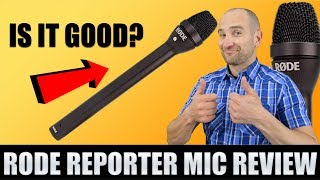 The Rode Reporter Microphone - My Honest Review