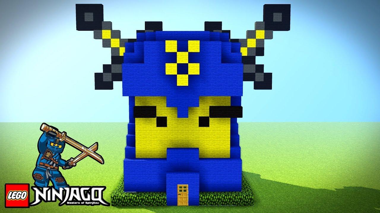 Minecraft Tutorial How To Make A Ninjago House Survival House Lego Ninjago Minecraft
