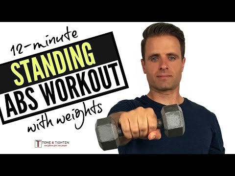 12-minute-standing-abs-workout-with-weights-at-home