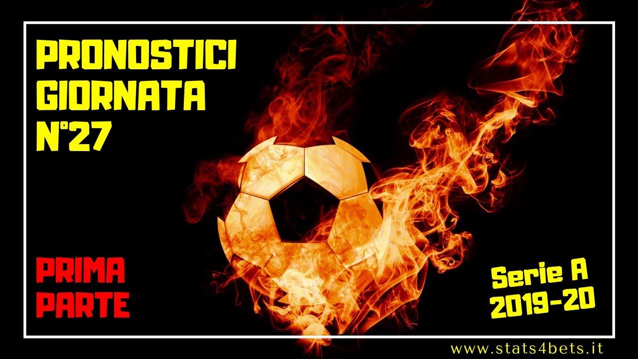 Pronostici Serie A 27 Giornata Oggi In Campo Milan Juve L Analisi Di Stats4bets Youtube