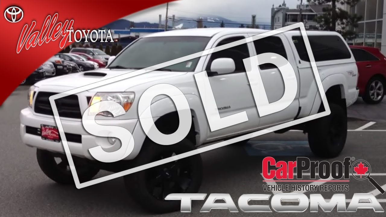 SOLD 2007 Toyota Tacoma TRD Double Cab For Sale At Valley Toyota