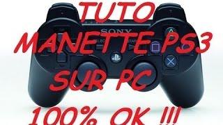 brancher sa manette de PS3 sur son pc windows et jouer a des jeux pc