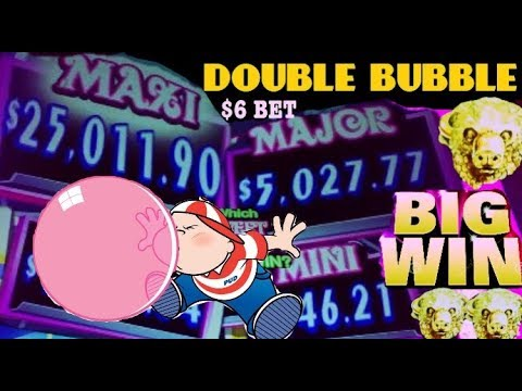 ★NEW GAME!★ DOUBLE BUBBLE slot machine  play BUFFALO GOLD slot machine MEGA BIG WIN and more!