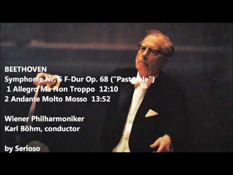 beethoven,pastorale symphony 1,2mov, karl bohm