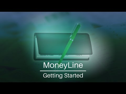 MoneyLine Personal Finance Software | Getting Started