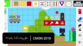 Mr Maker 2 Level Editor - Mạnh Tiến Nguyễn Trò chơi đoạn giới thiệu - Mạnh Tiến Nguyễn CMSN 2019