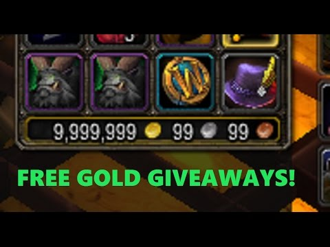 How to WIN 1,000g - 8,000,000 Gold DAILY in the WoW Lottery + FREE GAMETIME !