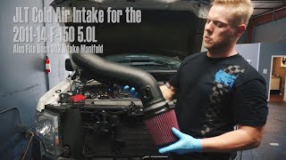 JLT Cold Air Intake For The 2011-2014 F150 5.0L Sounds Great and Makes Power
