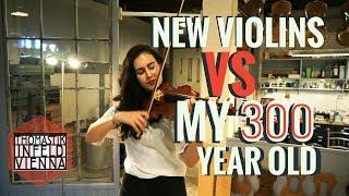 Test: New Violins vs. Lelie's 300 years old Violin
