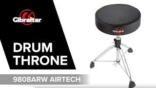 Gibraltar Hardware 9808ARW Airtech Round Web top throne (GI806.950)
