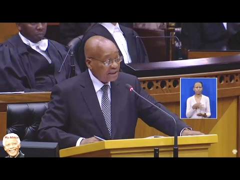 """SONA 2017 Worst Than A Beer Hall"" Jacob Zuma"