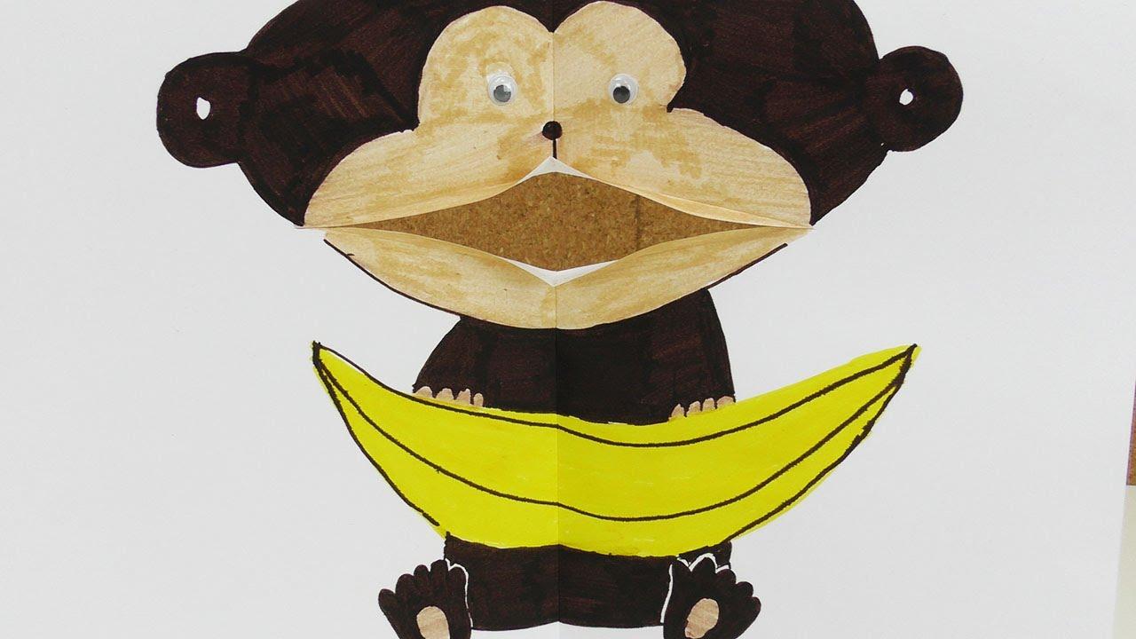 Wie Male Ich Einen Süßen Affen Klappmaulfigur Selber Machen
