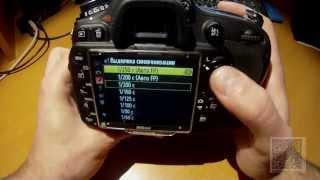 Користувальницькі налаштування. Брекетинг  Спалах. Nikon D610600 - інструкція по застосуванню. Частина 7.