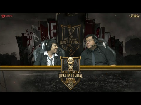 MSI 2017 | Play-In Stage Round 3 - GAM vs SUP (Indonesian Ca