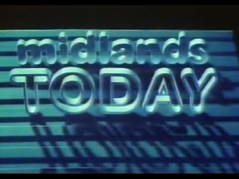 BBC Midlands Today titles 1983