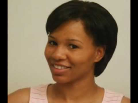 Flat Iron On Short Natural Hair Youtube