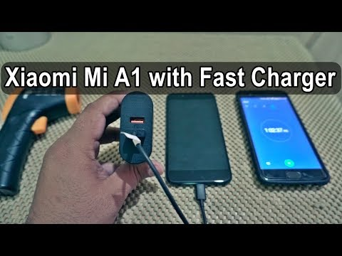 🔥 Xiaomi Mi A1 Charging Speed with Fast Charger : What