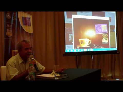 5 / 10 India International Coffee Festival 2014 press briefing Ramesh P Rajah