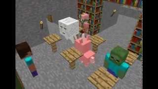 Minecraft Monster School อาจารย์ฮีโร่บาย