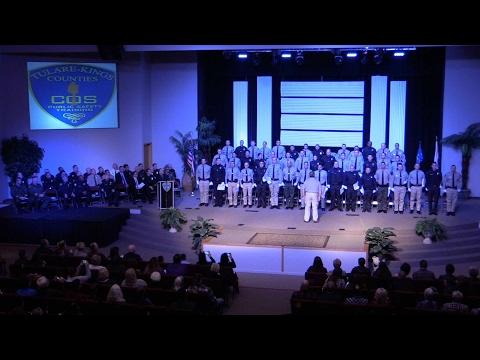 Police Academy Graduation: Class 134