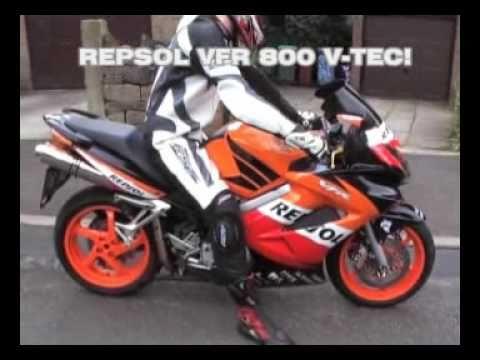 Repsol Vfr 800 Vtec Youtube