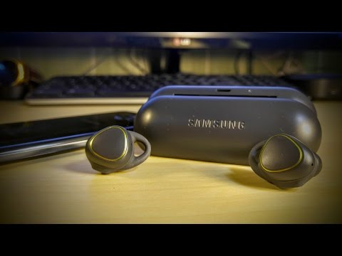 Samsung Gear icon X Fitness Earbuds /Fitness Tracker ( unboxing )