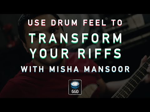TRANSFORM YOUR RIFFS w/ Misha Mansoor - drum programming tutorial thumbnail