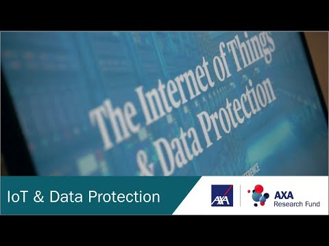 Internet of Things & Data Protection Conference   October 6th 2017   AXA Research Fund