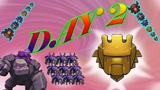 Clash of Clans - PUSH TO TITAN BABY! *Day 2* (Still Behind Nick) - #031