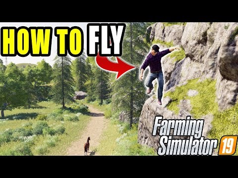 HOW TO: FLY AND DISABLE HUD IN FARMING SIMULATOR 2019 (PC ONLY)