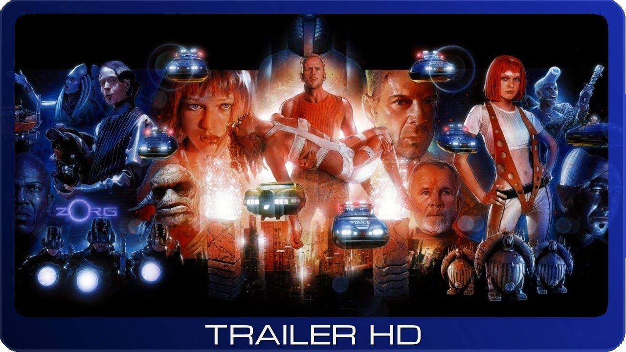 Das Fünfte Element ≣ 1997 ≣ Trailer #1