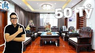 KHÁM PHÁ NHÀ PHỐ TRỊ GIÁ 50 TỶ ĐỒNG 120m2 x7 Tầng tại phố Đỗ Quang, Hà Nội - NhaF [4K]