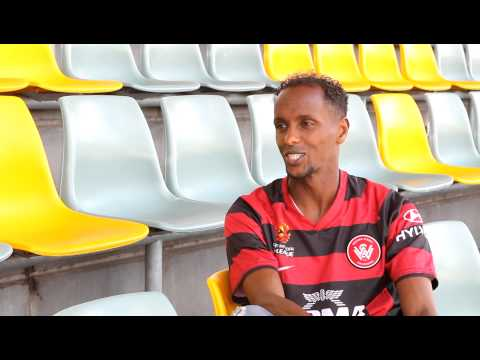 Wanderers interview with Hersi