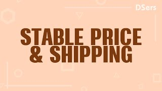 DSers Mass Supply - Stable prices, reliable shipping - AliExpress Official Partner