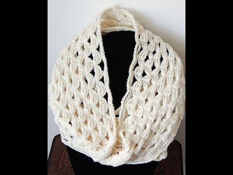 Crochet  Bufanda Infinita 4 (Andrea)