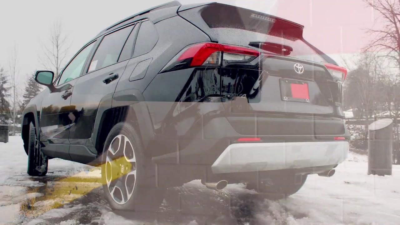 How to Install 2019 Toyota RAV4 EcoHitch Trailer Hitch Trailer Wiring Rav on