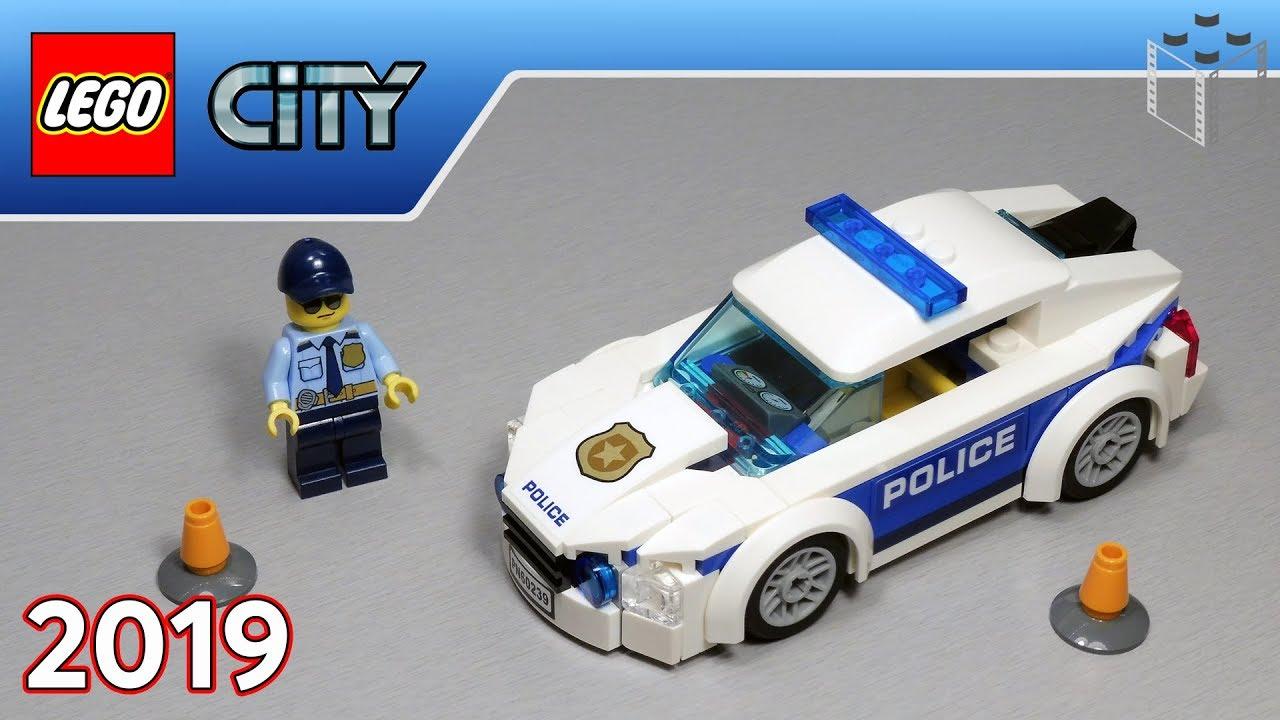 Lego City 60239 Samochód Policyjny Legozmysl Speed Build Youtube