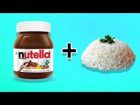 Nutellalı Pilav Yaptık - Oha Diyorum Mutfakta